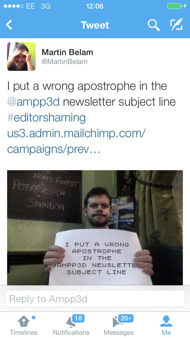 Ampp3d editor shaming