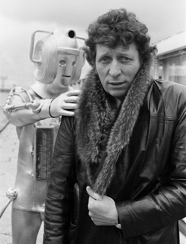 Tom Baker Doctor Who Cyberman