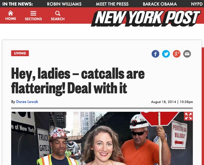 New York Post screenshot
