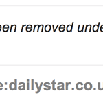 Maybe the Daily Star should have checked their own website before complaining about the BBC's Savile article?