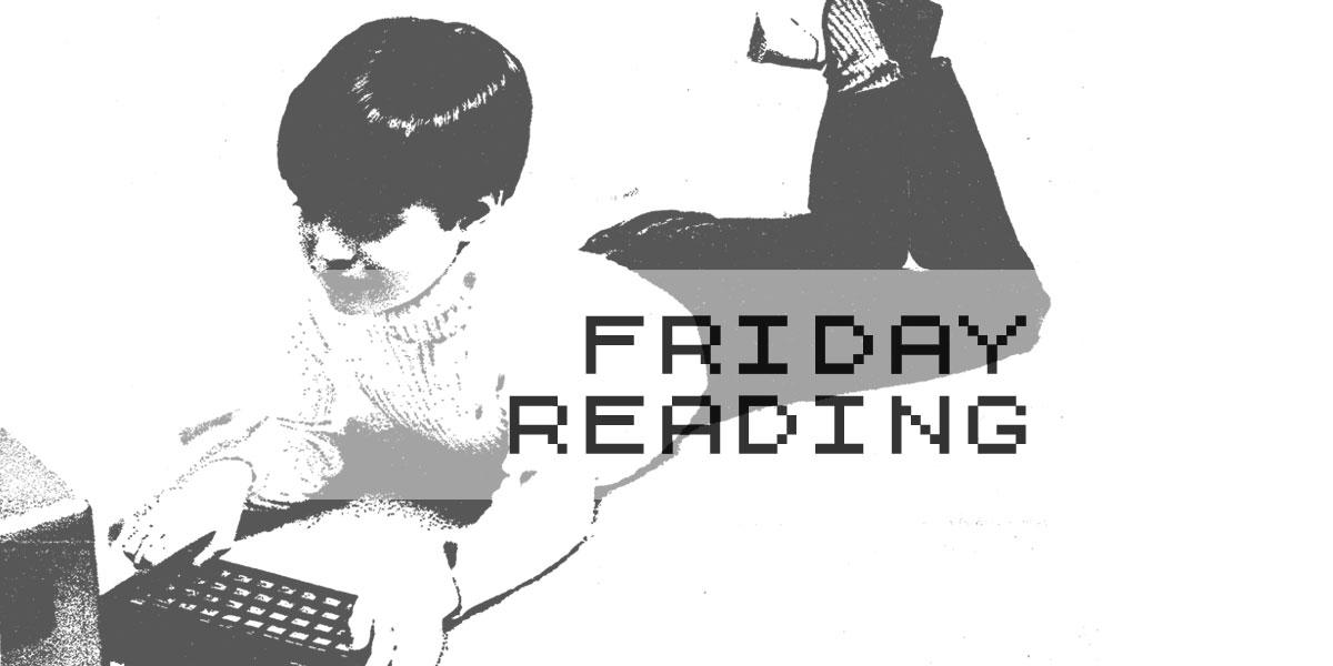 Zx Spectrum boy Friday Reading