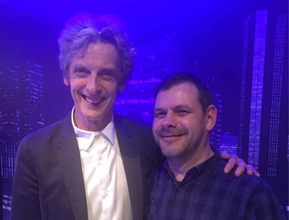 Peter Capaldi and me
