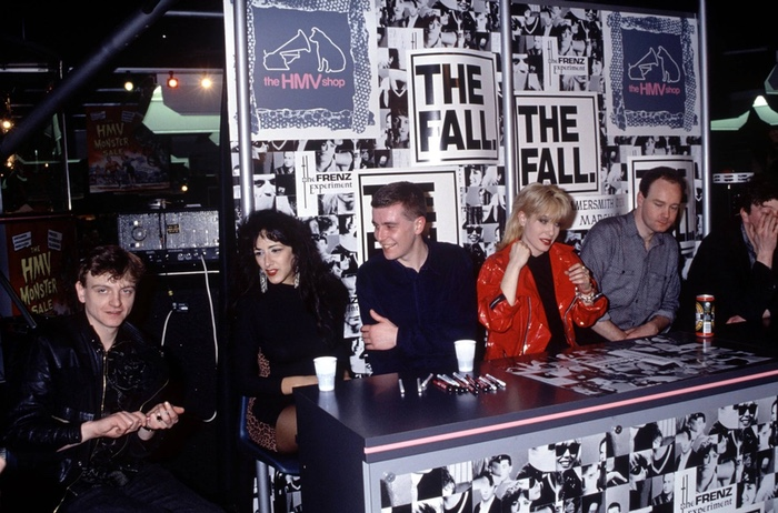 The Fall at HMV in 1988