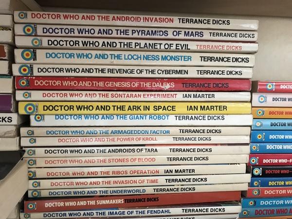 Doctor Who Target novels