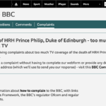 Complaints about complaints at the BBC