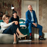(L-R) Julia Chan, Lilly Allen and Jake Wood in 2.22