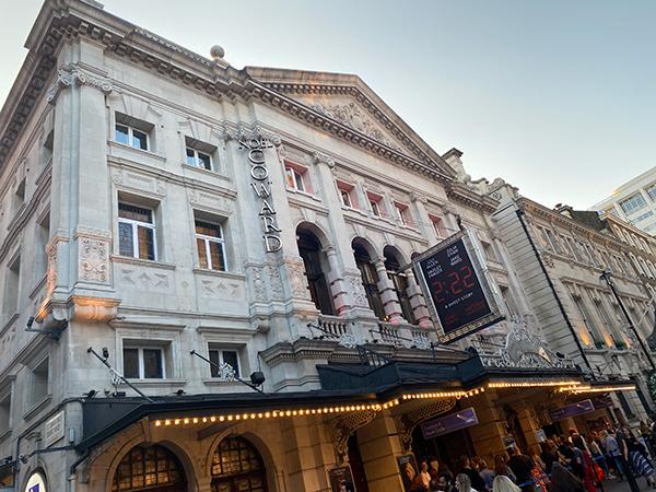 The Noël Coward theatre in London